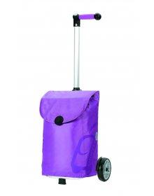 Nákupní taška Andersen UNUS SHOPPER® PEPE, fialová