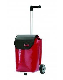 Nákupní taška Andersen UNUS SHOPPER® TRUCK CARBON, červená