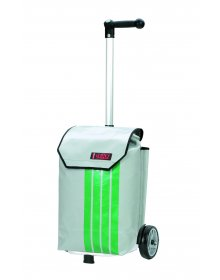 Nákupní taška Andersen UNUS SHOPPER®  TRUCK- taška z použité plachty nákladních vozidel - každá taška unikát!