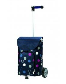 Nákupní taška Andersen UNUS SHOPPER® KIRA, modrá