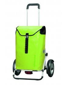 Taška na kolečkách Andersen ROYAL SHOPPER® PLUS ORTLIEB, nafukovací kolečka, zelená - lemon