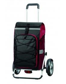 Nákupní taška na kolečkách Andersen ROYAL SHOPPER® PLUS FADO, červená