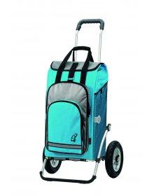 Andersen ROYAL SHOPPER® HYDRO, modrá, nafukovací kolečka s kuličkovými ložisky