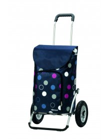 Andersen ROYAL SHOPPER® KIRA, modrá, nafukovací kolečka s kuličkovými ložisky