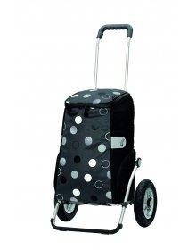 Andersen ROYAL SHOPPER® SILA, šedá, nafukovací kolečka s kuličkovými ložisky