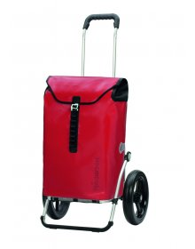 Andersen ROYAL SHOPPER® ORTLIEB, červená, kolečko s kul. ložisky, průměr 29 cm
