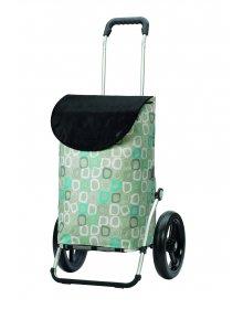 Taška na kolečkách Andersen ROYAL SHOPPER® LOME, šedá, kolečko s kul. ložisky, průměr 29 cm