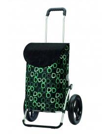 Taška na kolečkách Andersen ROYAL SHOPPER® LOME, černá, kolečko s kul. ložisky, průměr 29 cm
