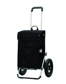 Andersen ROYAL SHOPPER® VIKA, černá, nafukovací kolečko s kul. ložisky, průměr 29 cm