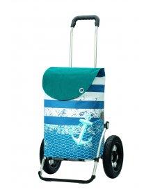 Andersen ROYAL SHOPPER® MEER, modrá, nafukovací kolečko s kul. ložisky, průměr 29 cm
