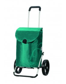Taška na kolečkách Andersen ROYAL SHOPPER® PEPE, tyrkysová,kolečko standard, 39l