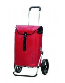 Luxusní taška na kolečkách Andersen ROYAL SHOPPER® ORTLIEB,červená,kolečko standard, 49l