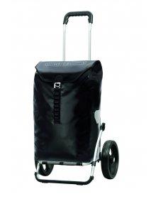 Luxusní taška na kolečkách Andersen ROYAL SHOPPER® ORTLIEB, černá, kolečko standard, 49l