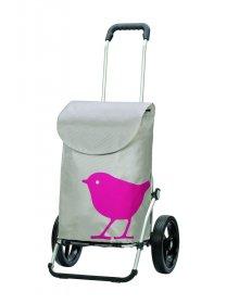 Andersen ROYAL SHOPPER® BIRD,růžová,kolečko standard