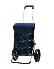 Taška na kolečkách Andersen ROYAL SHOPPER® HAVA, modrá, kolečko standard, 39l