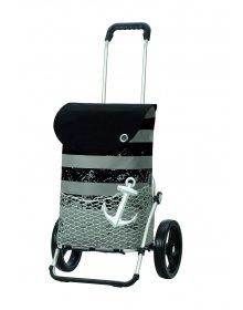 Taška na kolečkách Andersen ROYAL SHOPPER® MEER, černá,kolečko standard, 39l