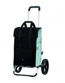 Taška na kolečkách Andersen ROYAL SHOPPER® EDA, tyrkysová,kolečko standard, 50l