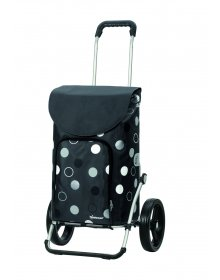 Taška na kolečkách Andersen ROYAL SHOPPER® KIRA, šedá,kolečko standard, 41l