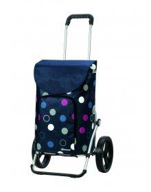 Taška na kolečkách Andersen ROYAL SHOPPER® KIRA, modrá,kolečko standard, 41l