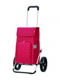 Taška na kolečkách Andersen ROYAL SHOPPER® LIZZY, červená,kolečko standard, 43l
