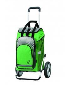 Taška na kolečkách Andersen ROYAL SHOPPER® HYDRO, zelená, 62l, kolečko s kul.ložisky