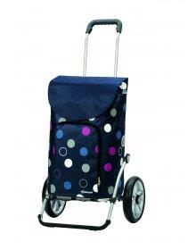 Taška na kolečkách Andersen ROYAL SHOPPER® KIRA, modrá, kolečko s kul. ložisky