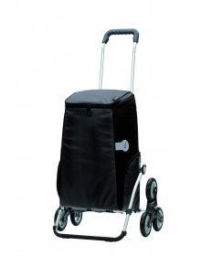 Nákupní taška Andersen TREPPENSTEIGER ROYAL SHOPPER® HARON - DO SCHODŮ, černá