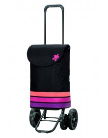 Andersen QUATTRO SHOPPER® BLOM, růžová
