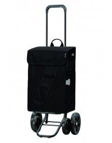 Taška na kolečkách Andersen QUATTRO SHOPPER® VIKA, černá