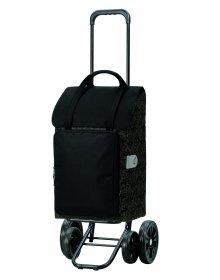 Taška na kolečkách Andersen QUATTRO SHOPPER® MIMI, černá