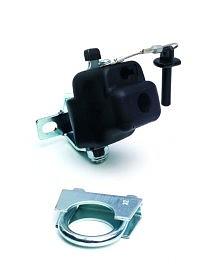 Přípojný mechanismus Andersen FUN pro připojení přívěsného vozíku ke kolu, bez zámku, průměr sedlovky do 32 mm