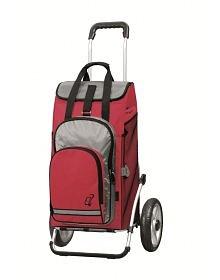 Taška na kolečkách Andersen ROYAL SHOPPER® HYDRO, červená, 62l, kolečka s kul.ložisky