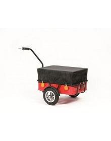 Přívěsný vozík za jízdní kolo a pro volný čas Andersen EASY, včetně plachty a nafukovacích kol
