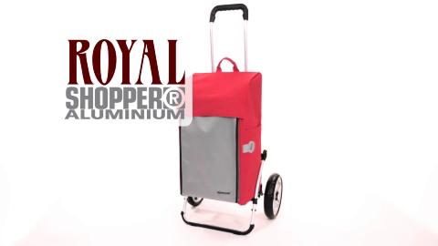 ROYAL SHOPPER® - taška s nafukovacími kolečky s kuličkovými ložisky