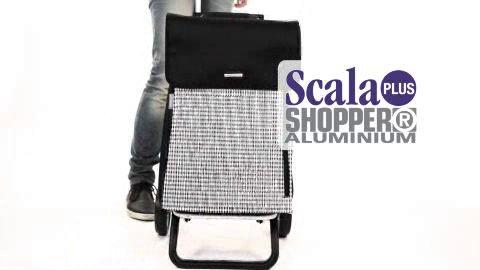 SCALA SHOPPER® PLUS - lehká nákupní taška na kolečkách