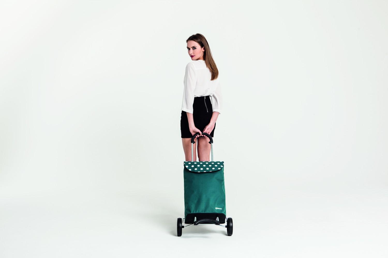 SCALA SHOPPER® - nákupní taška na kolečkách s ocelovým podvozkem