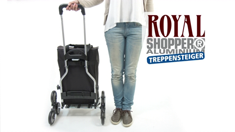 TREPPENSTEIGER ROYAL SHOPPER® - do schodů