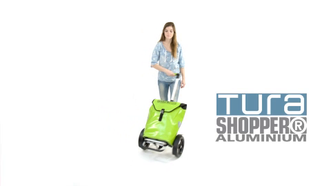 TURA SHOPPER® - velká tašky s tyčovým madlem a ložiskovými koly